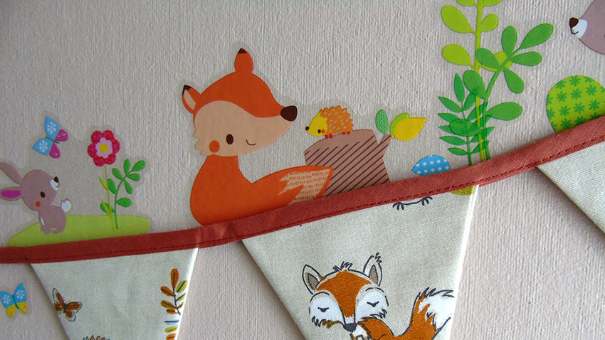 Design a Whimsical Nursery with Woodland Wall Decals