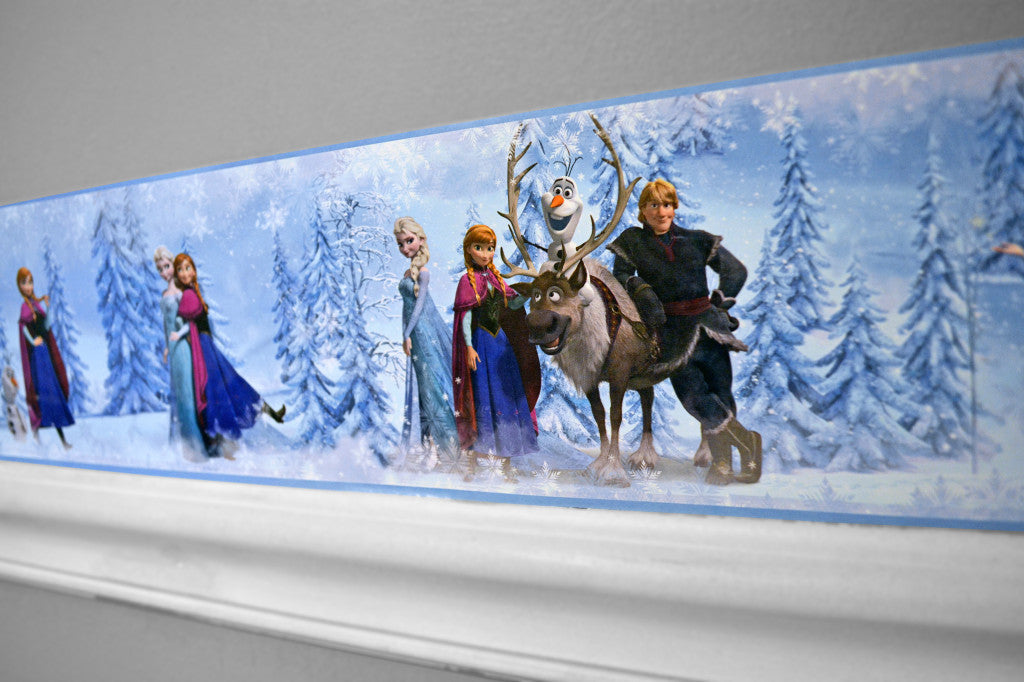Create A Frozen Fantasyland with our Disney Frozen Border!