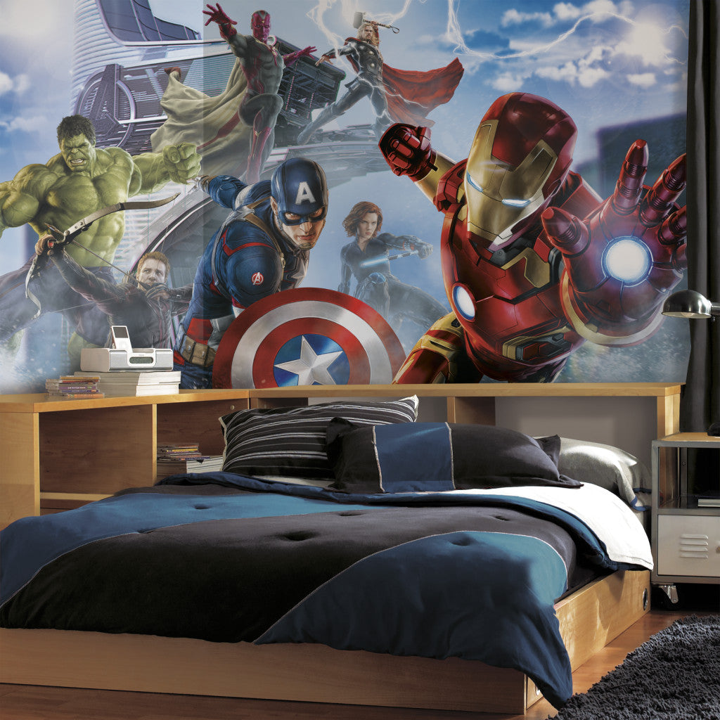 Avengers Themed Bedroom Ideas