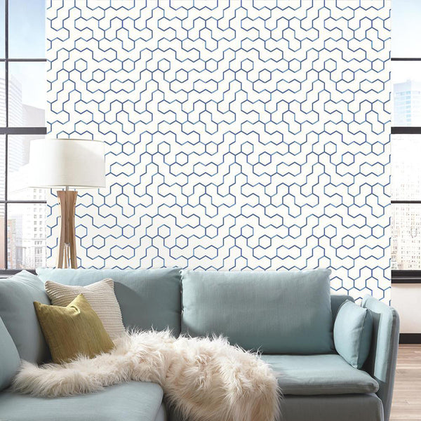 Create An Accent Wall With Peel and Stick Wallpaper