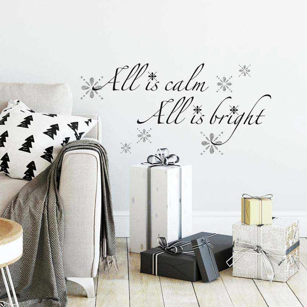 Christmas Carol Wall Decals