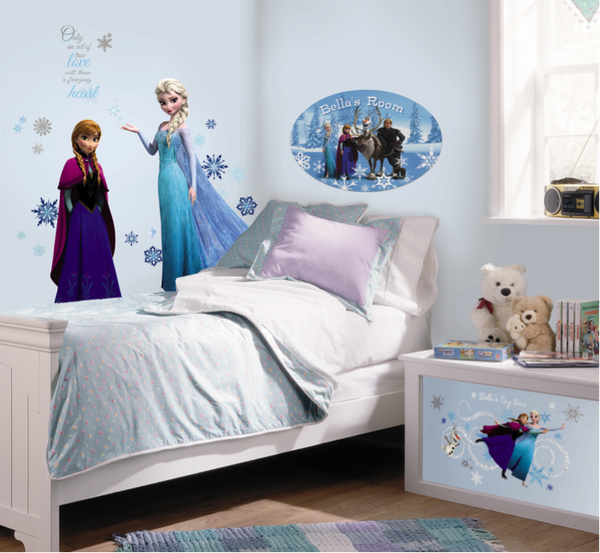 Disney Frozen Bedroom Decorations