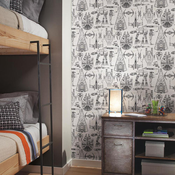Easy Statement Wall With Peel And Stick Wallpaper