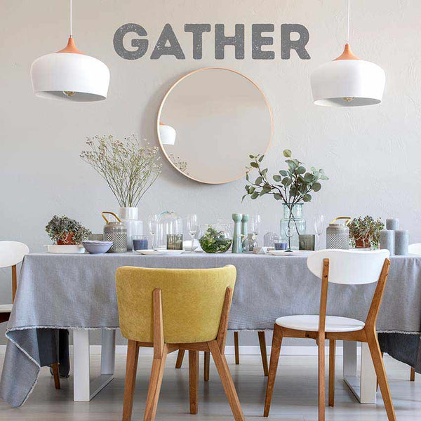 Gather Quote Wall Decals