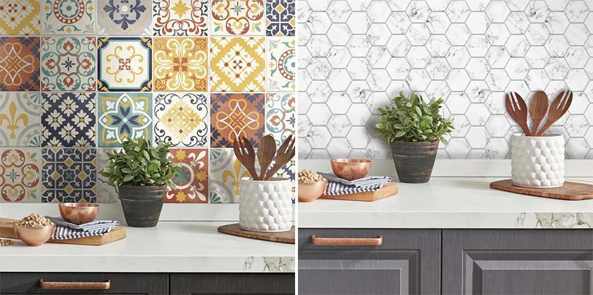 Makeover A Room With Peel And Stick Tiles