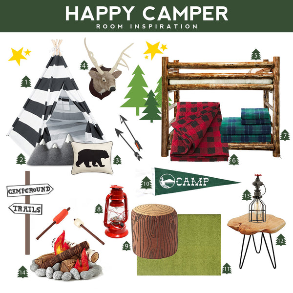 Happy Camper Room Inspiration