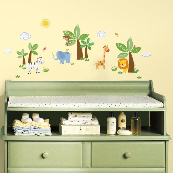 Jungle Friends Wall Decals
