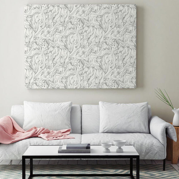 Make Your Own Canvas With Peel And Stick Wallpaper