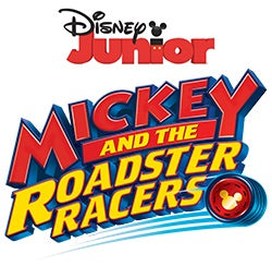 Mickey and Roadster racers logo