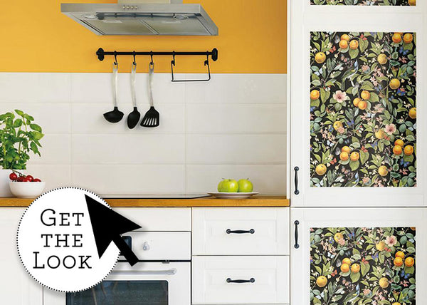 Renovate A Kitchen With Bright Wallpaper