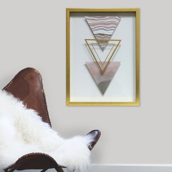 Three Triangle Shadowbox