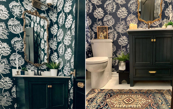 Stylish Bathroom Makeover