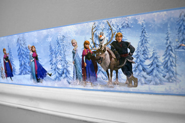 Frozen Peel And Stick Border