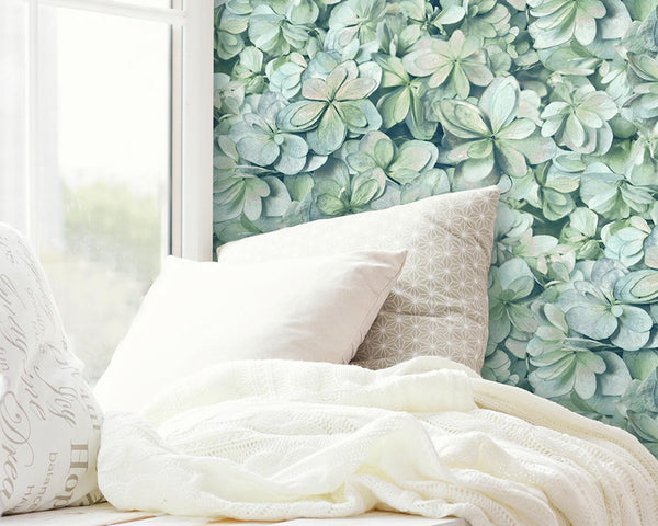 Use Peel And Stick Wallpaper To Add Nature To A Space