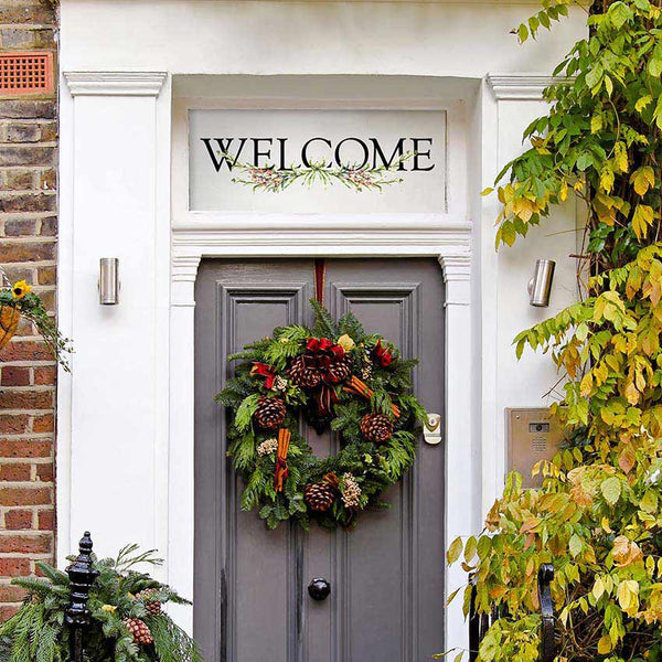 Welcome Quote Wall Decals