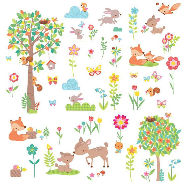 Woodland Critters Wall Decals