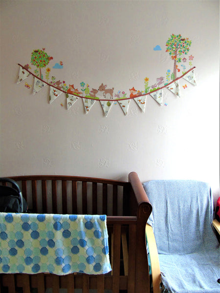 Woodland Creature Wall Decals