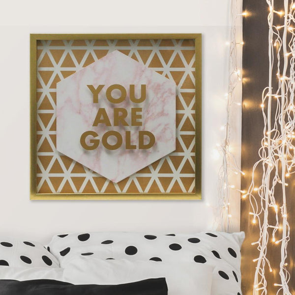 You Are Gold Shadowbox