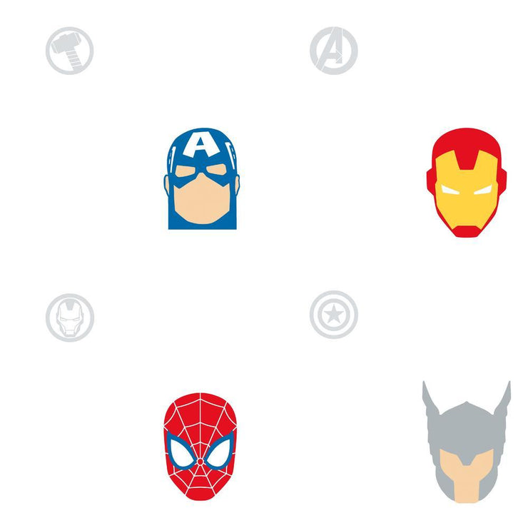 Avengers Character Spot Peel and Stick Wallpaper