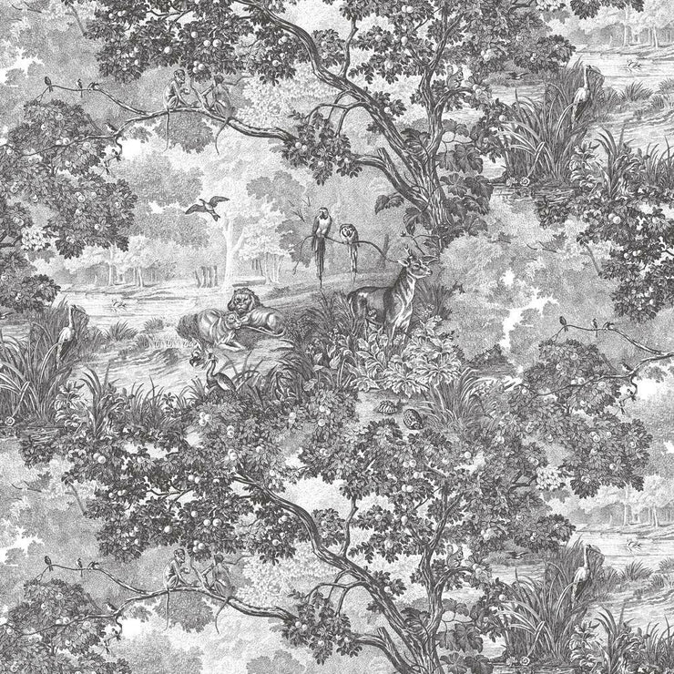 Shop Jungle Toile Peel and Stick Wallpaper