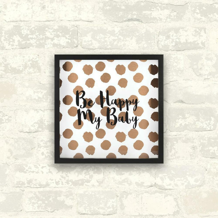 Be Happy My Baby Shadowbox roomset 3