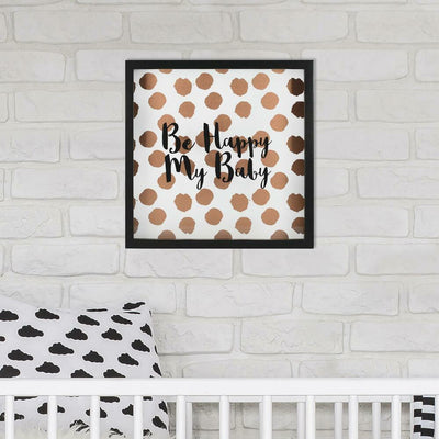 Be Happy My Baby Shadowbox roomset
