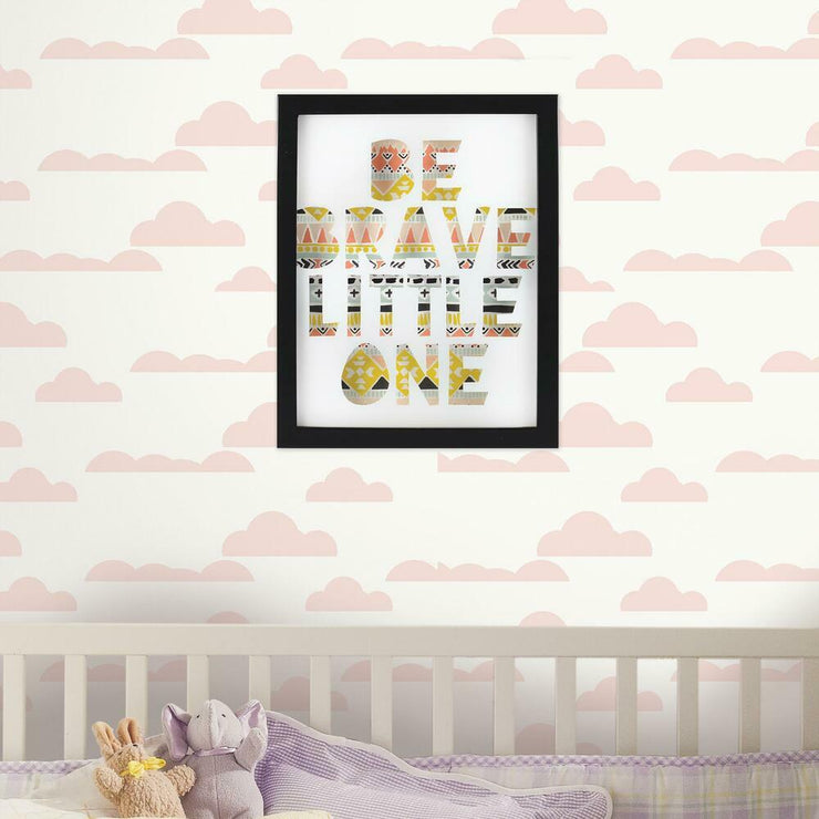 Little Explorer Be Brave Little One Shadowbox roomset