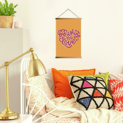 Do What You Love Wall Hanging roomset