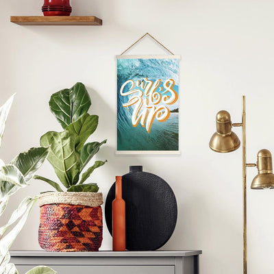Surfs Up Wall Hanging roomset
