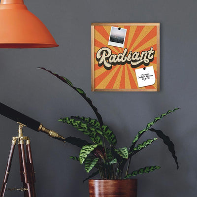 Radiant Cork Wall Art roomset