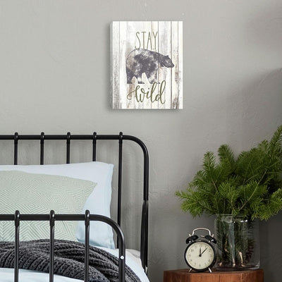 Stay Wild Canvas roomset