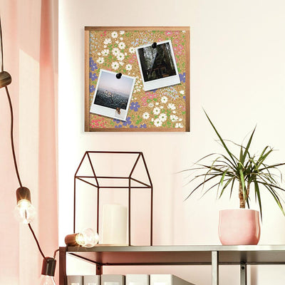 Floral Cork Wall Art roomset