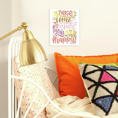 Soul Happy Canvas with Foil roomset
