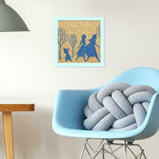Sisterly Love Frozen 2 Cork Wall Art roomset