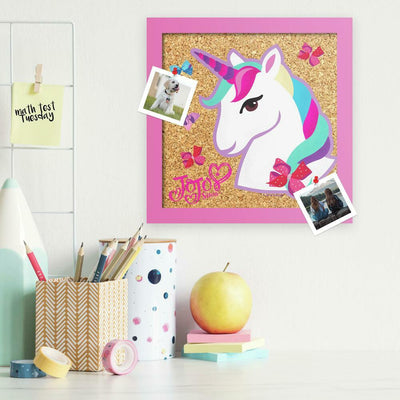 JoJo Siwa Unicorn Cork Wall Art roomset