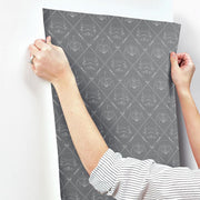 Star Wars Dark Side Peel & Stick Wallpaper hang