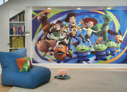 Toy Story 3 XL Wallpaper Mural 10.5' x 6' roomset