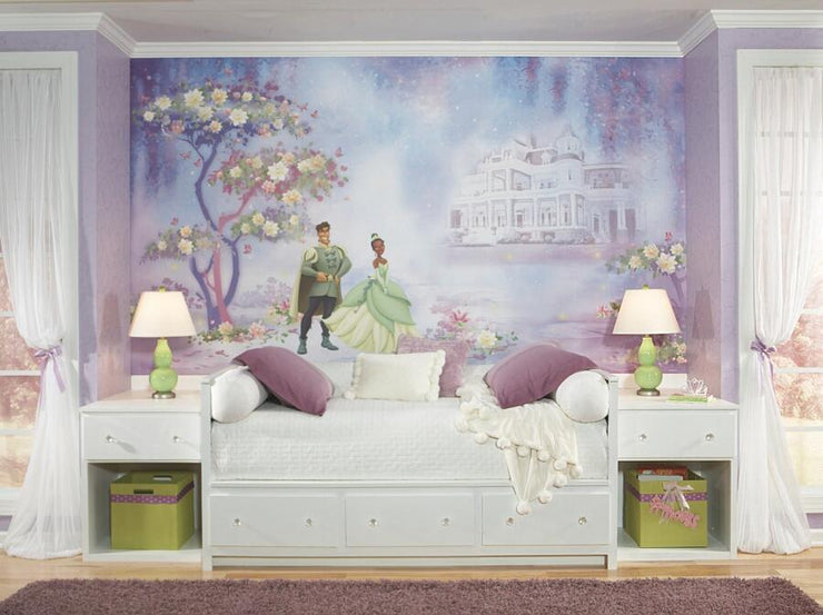 The Princess and The Frog XL Wallpaper Mural 10.5' x 6' roomset