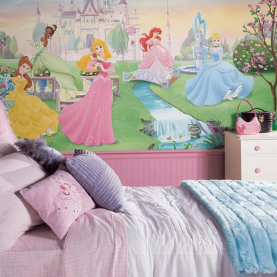 Disney Dancing Princess XL Wallpaper Mural 10.5' x 6' roomset