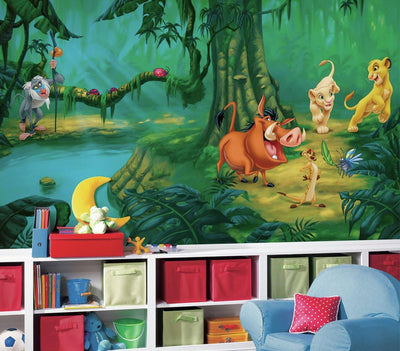 The Lion King XL Wallpaper Mural 10.5' x 6' roomset