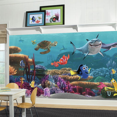 Finding Nemo XL Wallpaper Mural 10.5' x 6' roomset