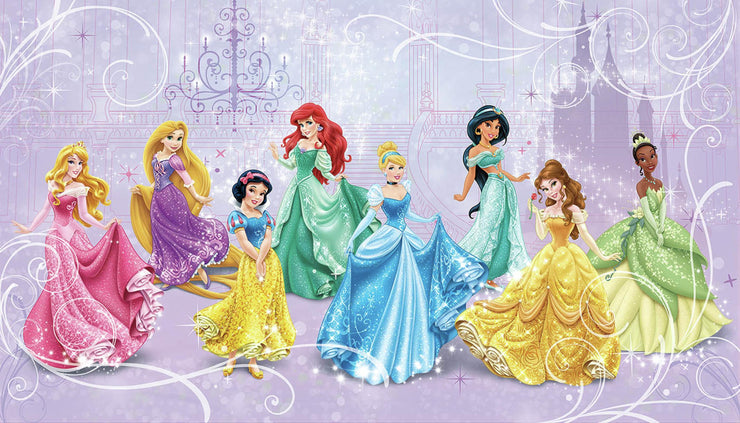 Disney Princess Royal Debut XL Wallpaper Mural 10.5' x 6'