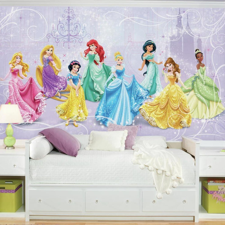 Disney Princess Royal Debut XL Wallpaper Mural 10.5' x 6' roomset