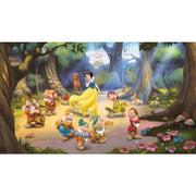 Snow White and the Seven Dwarfs XL Wallpaper Mural 10.5' x 6'