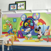 Mickey Mouse Clubhouse Capers XL Wallpaper Mural 10.5' x 6' roomset