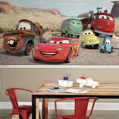 Disney Pixar Cars Desert XL Wallpaper Mural 10.5' X 6' roomset