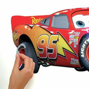Cars Lightning McQueen Giant Wall Decal peel