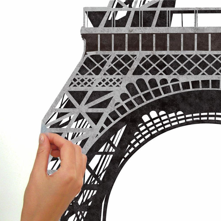 Eiffel Tower Giant Wall Decals peel