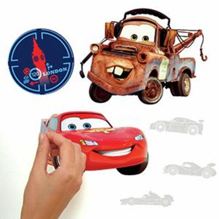Disney Cars Wall Decals peel