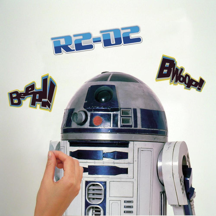 Star Wars R2-D2 Giant Wall Decal peel